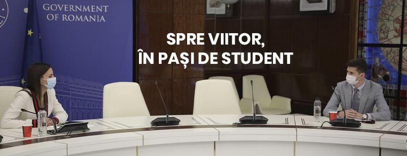 Spre viitor, în pași de student