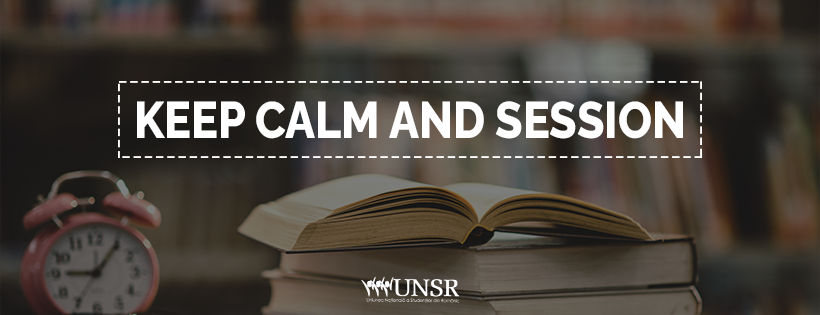 Keep calm and session